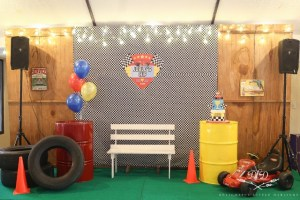 Joaquin's Little Racer Themed Party – 1st Birthday