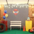 Racing Theme Party Stage