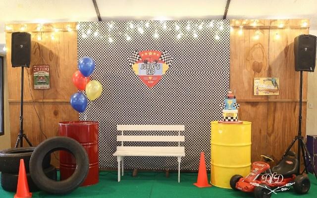 Joaquin's Little Racer Themed Party – 1st Birthday