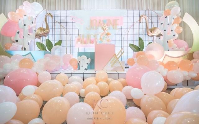 "Joanne's ""Memphis Design"" Inspired Party – 1st Birthday"