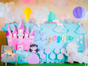 "Xyesha's ""Of Candies, a Princess and her Unicorn"" Themed Party – 7th Birthday"