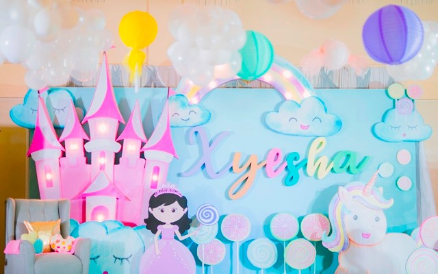 """Xyesha's """"Of Candies, a Princess and her Unicorn"""" Themed Party – 7th Birthday"""