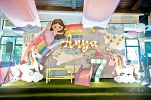 Anya's Whimsical Fairies and Unicorns Themed Party – 7th Birthday
