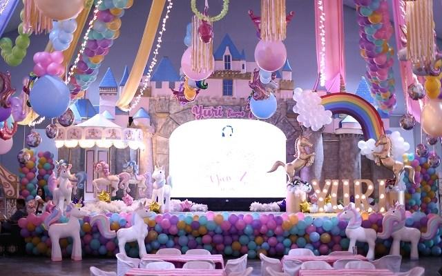 Yuri's Enchanting Unicorn Themed Party – 7th Birthday