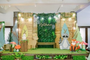 Nathan's Delightful Woodland Themed Party – 1st Birthday