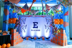 Ellis Mari's Hip Hermès-inspired Party- 1st Birthday