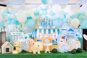 Kaeden's Pet Town Themed Party – 1st Birthday