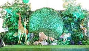 Orion's Jungle Safari Adventure Themed Party – 1st Birthday