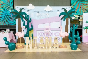 Niana's Tropical Paradise Inspired Party – 1st Birthday