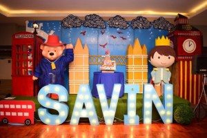 Savin's Paddington Bear Themed Party – 1st Birthday