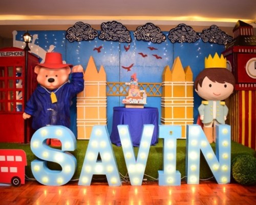 Savin's Paddington Bear Themed Party – 1st Birthday