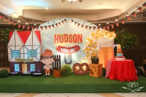 Hudson's Kiddie Oktoberfest Themed Party – 1st Birthday