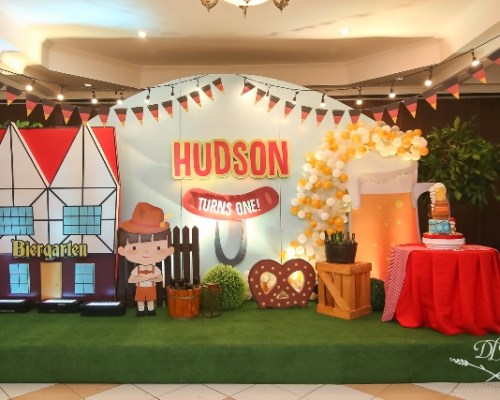 Hudson's Kiddie Oktoberfest Themed Party – 1st Birthday