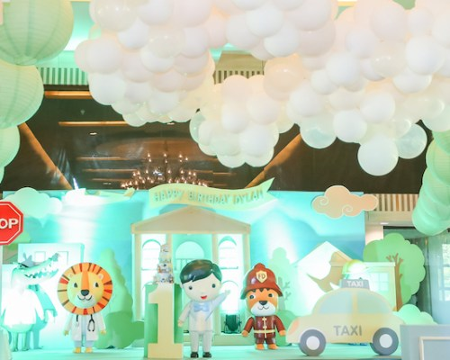 """Mayor Dylan's Charming """"My Little Town"""" Themed Party – 1st Birthday"""