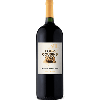 FOUR COUSINS NATURAL SWEET RED WINE – Party Drinks 9ja