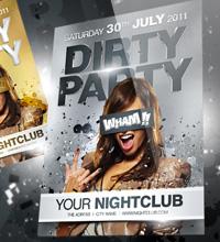 White Affair Party Flyer - 26