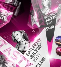 White Affair Party Flyer - 23