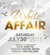 White Affair Party Flyer - 27