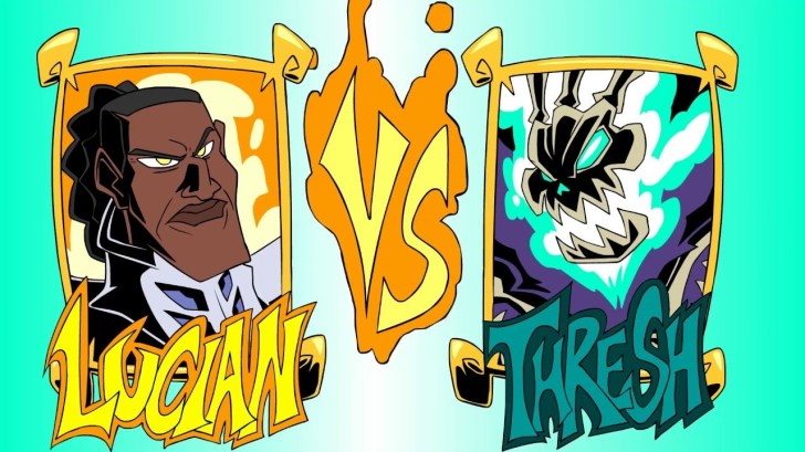 LUCIAN-VS-THRESH-Who-Would-Win-League-of-Legends-Community-Collab
