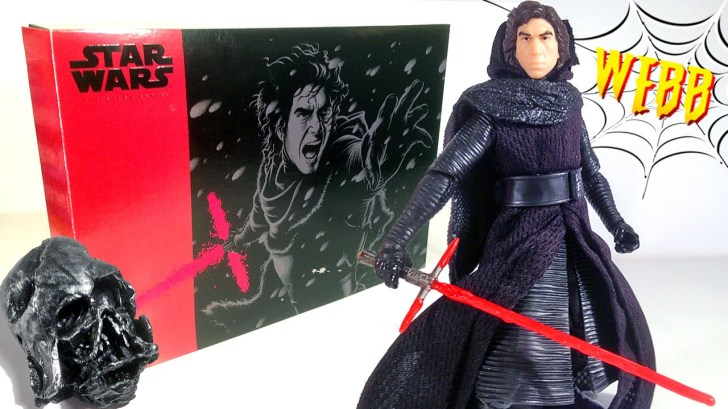 STAR-WARS-Black-Series-Exclusive-KYLO-REN-UNMASKED-Action-Figure-Review