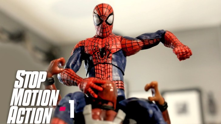 SPIDERMAN-STOP-MOTION-Action-Video-Part-1