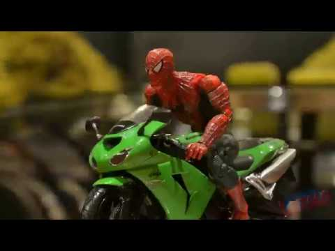 SPIDERMAN-STOP-MOTION-Action-Video-Part-4