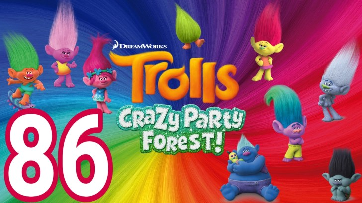 Trolls-Crazy-Party-Forest-86-level-49-PARTY-13-14-AndroidIOS-gameplay