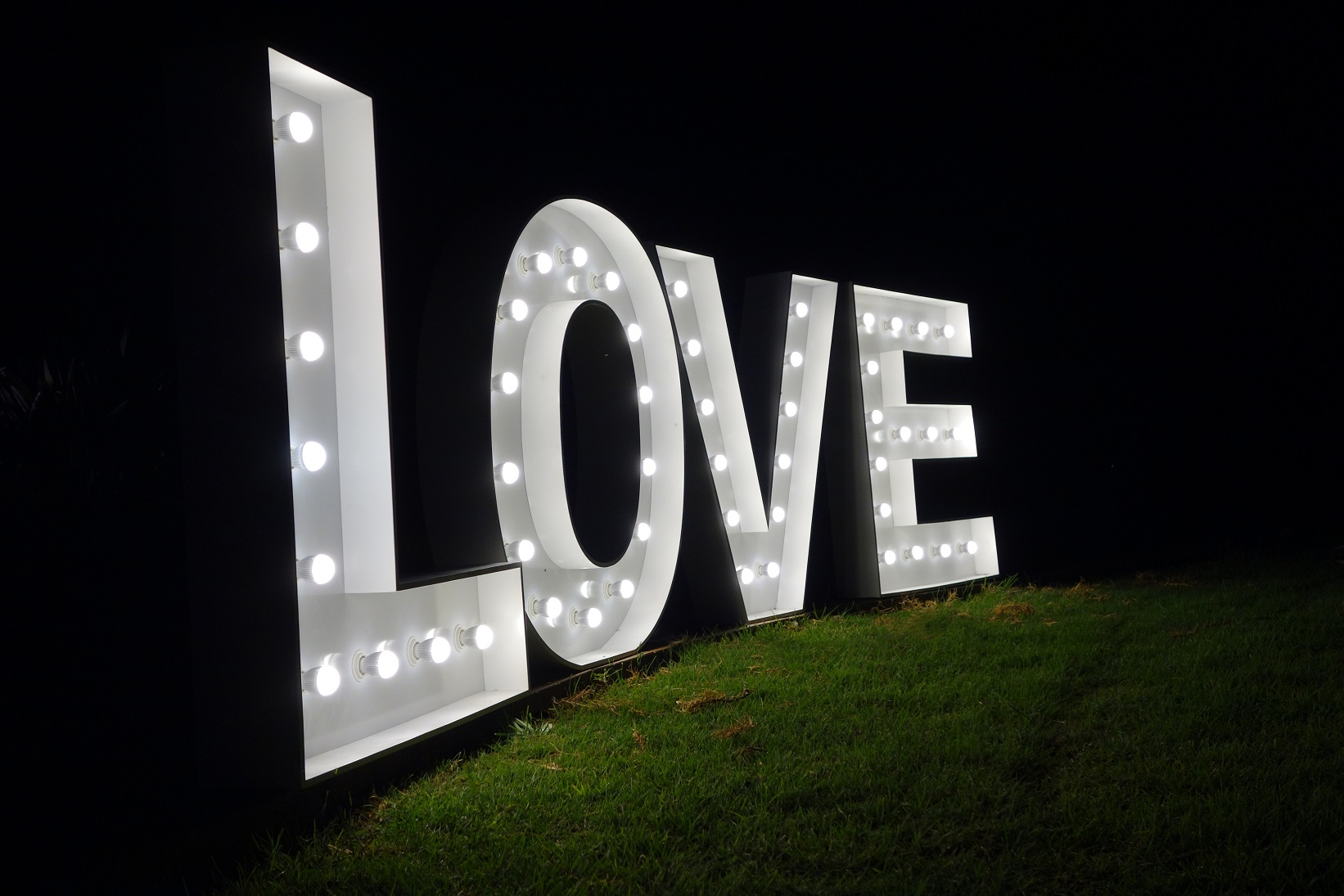 Marquee Letter Lights Sydney
