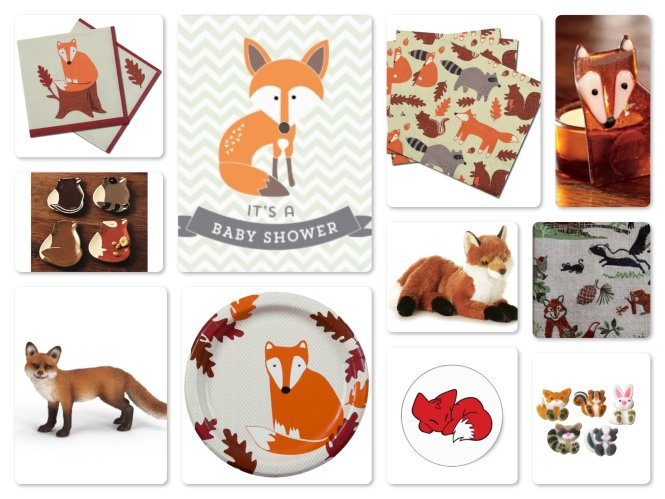 Woodland Nursery Fox Decor Handcrafted Wood Sign Baby Shower Decorations Rustic