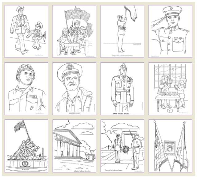 Veterans Day Printable Games  Patriotic Holidays  PartyIdeaPros.com