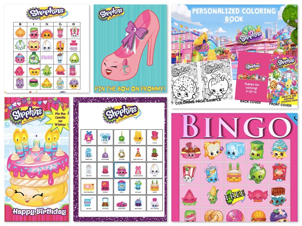 Shopkins Birthday Party Planning Ideas Amp Supplies