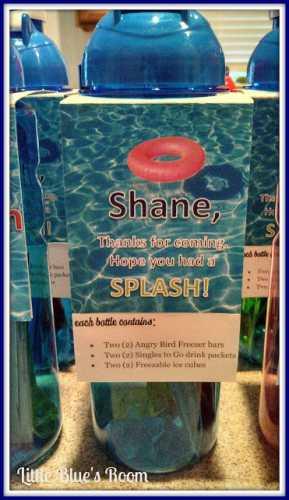 Cheap Pool Party Favor Idea