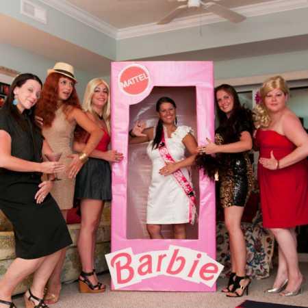 Barbie themed bachelorette party