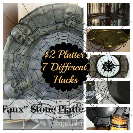 Halloween-party-platter-plate-hack-dollarstore-craft-decorations