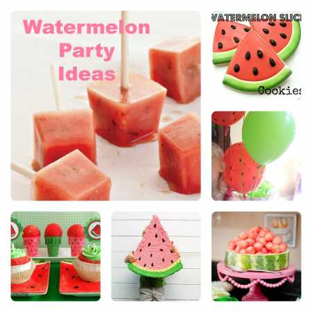party ideas watermelon party ideas