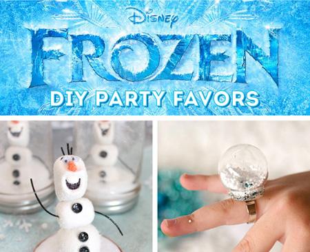 Disney Frozen Birthday Craft Ideas