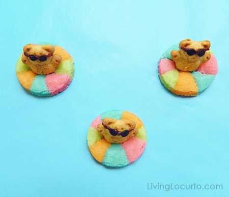 Pool-Party-Life-Preserver-Float-Cookies