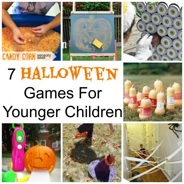 7 halloween games for younger children party ideas for Halloween party games for preschoolers
