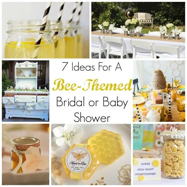 Keeping With A Bee Theme While Planning Your Next Shower Can Be Lot Easier Than You Would Probably Imagine I Honestly Little Worried That It