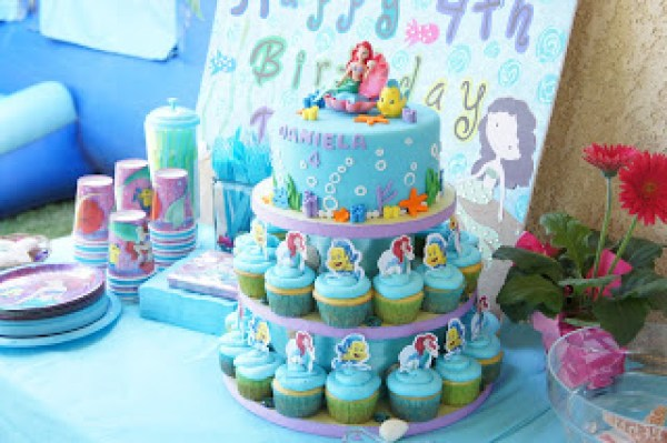 8 Mermaid Themed Birthday Cakes Party Ideas