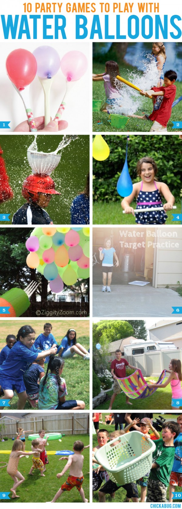 10 party games to play with water balloons party ideas for A bathroom i can play baseball in