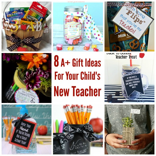 8 A Gift Ideas For Your Child S New Teacher Party Ideas