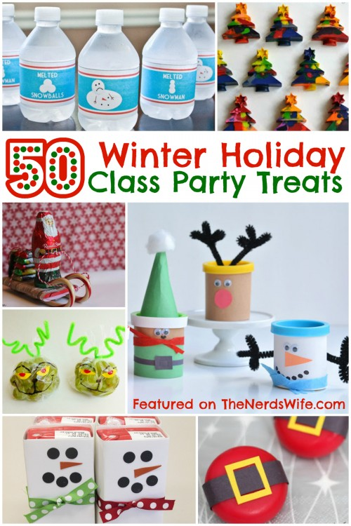 Christmas Class Party Ideas Part - 35: Winter-Holiday-Class-Party-Treats