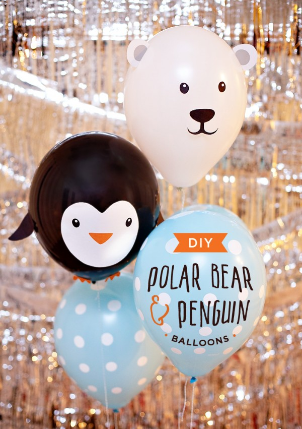 diy-penguin-and-polar-bear-balloons