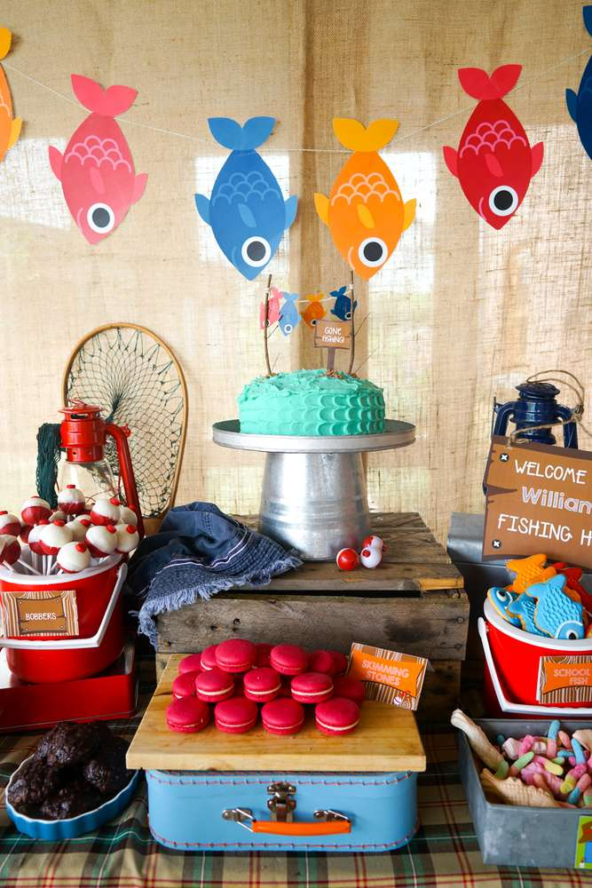 fishing_party_themed_table