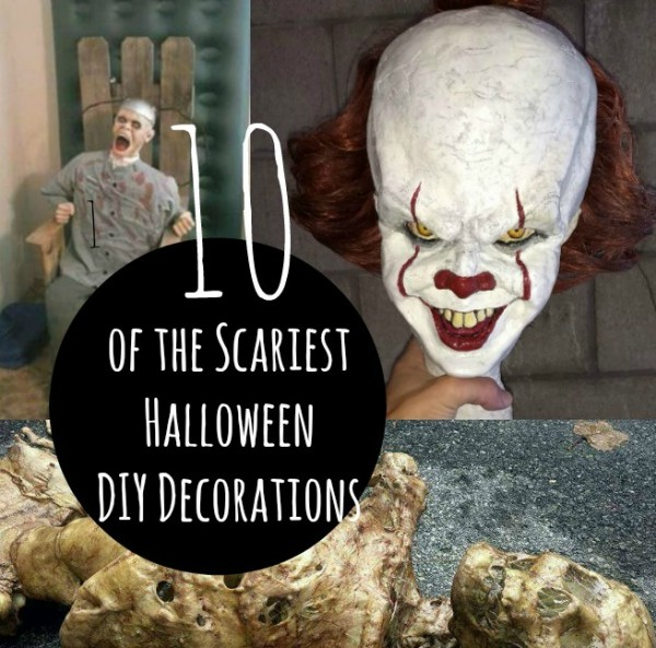 10 Scary DIY Halloween Party Props