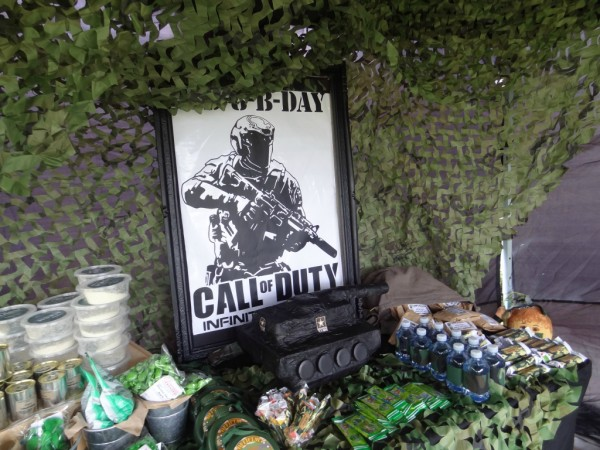 DIY Army Call Of Duty Party Ideas – Party Ideas