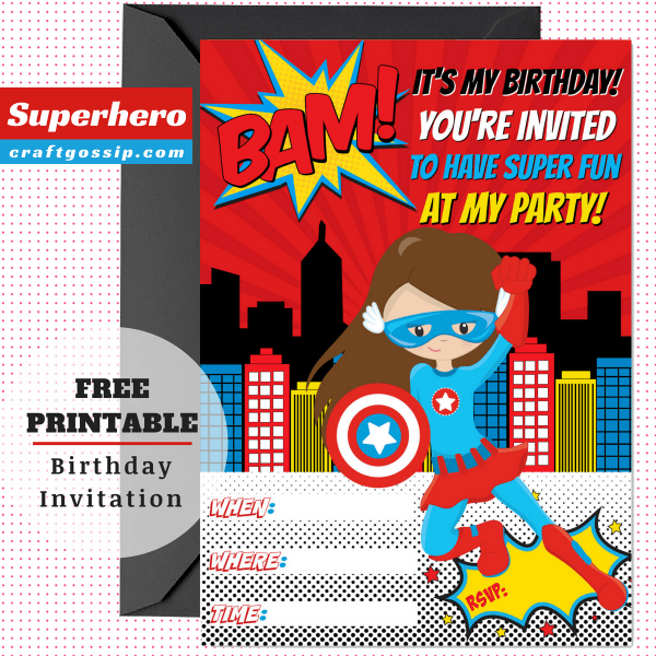 superhero party craft ideas free printables for ideas 5529