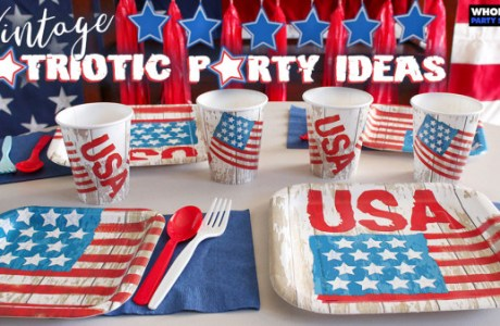 Vintage Patriotic Party Ideas