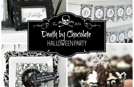 Death By Chocolate Halloween Party